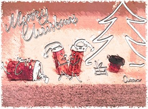 Merry Christmas Anna's Cork Friends
